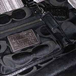 Coach Bags - Authentic Coach Poppy Black Tote Satchel Purse Bag